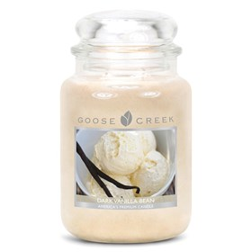 Dark Vanilla Bean 24oz Scented Candle Jar