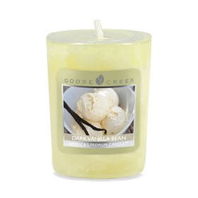 Dark Vanilla Bean Scented Votive