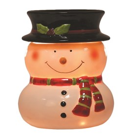 Snowman Electric Wax Melt Burner