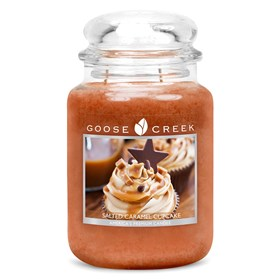 Salted Caramel Cupcake 24oz Scented Candle Jar