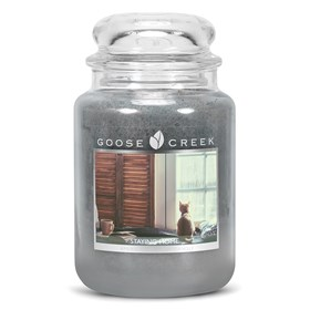 Staying Home 24oz Scented Candle Jar