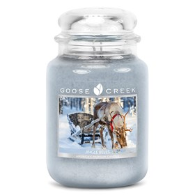 Jingle Bells 24oz Scented Candle Jar