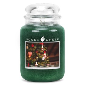 Classic Christmas Tree 24oz Scented Candle Jar