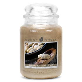 Brown Butter Pistachio  24oz Scented Candle Jar