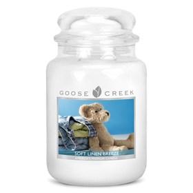 Soft Linen Breeze 24oz Scented Candle Jar