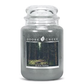 Black Pepper 24oz Scented Candle Jar