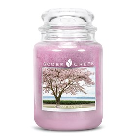 Cherry Blossom 24oz Scented Candle Jar
