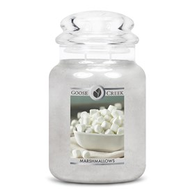 Marshmallows Goose Creek 24oz Scented Candle Jar