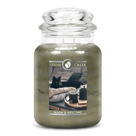 Warm & Welcome Goose Creek 24oz Scented Candle Jar