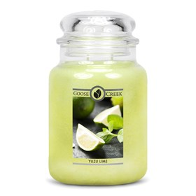 Yuzu Lime 24oz Scented Candle Jar