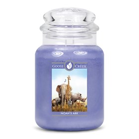 Noah's Ark Goose Creek Scented Candle Jar