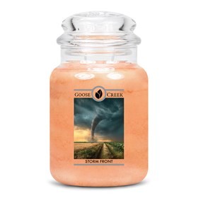 Storm Front Goose Creek Scented Candle Jar