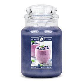 Blueberry Greek Yogurt Goose Creek Scented Candle Jar