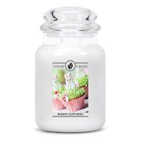 Bunny Cupcakes Goose Creek Scented Candle Jar