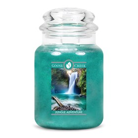 Jungle Adventure Goose Creek Scented Candle Jar