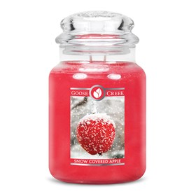 Snow Covered Apples Goose Creek 24oz Scented Candle Jar