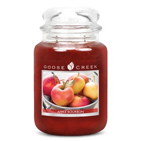 Apple Bourbon 24oz Scented Candle Jar