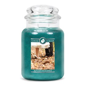Autumn Romance Goose Creek 24oz Scented Candle Jar