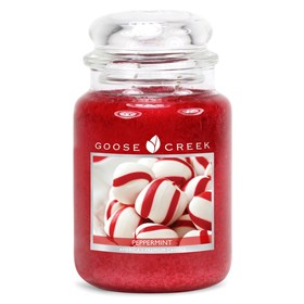 Peppermint 24oz Scented Candle Jar