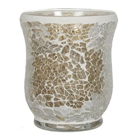 Hurricane Tealight Holder - Gold Lustre