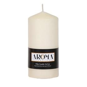 Ivory Pillar Candle