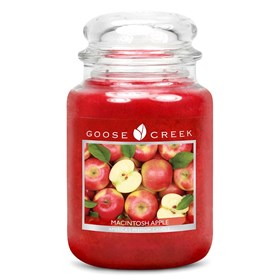Macintosh Apple 24oz Scented Candle Jar