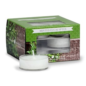 Minted Eucalyptus Scented Tea Lights