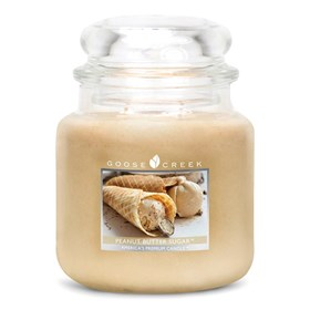 Peanut Butter Sugar 16oz Scented Candle Jar