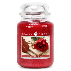 Pure Red Rose 24oz Scented Candle Jar
