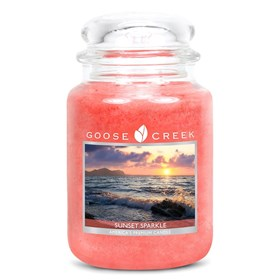 Sunset Sparkle 24oz Scented Candle Jar
