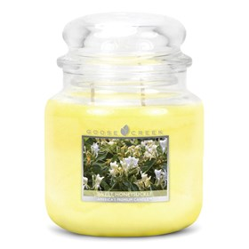 Sweet Honeysuckle 16oz Scented Candle Jar