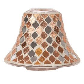 Copper Mirror Candle Jar Lamp Shade