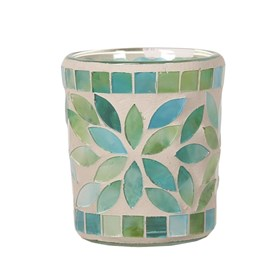 Mint Petals Votive Candle Holder