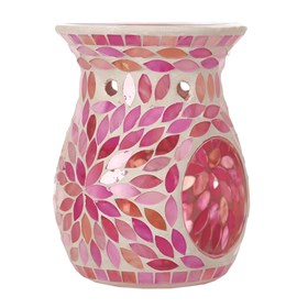 Wax Melt Burner - Pink Petals