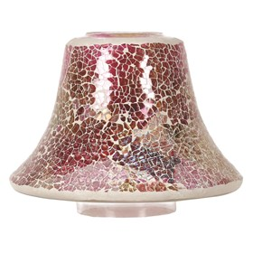 Raspberry Crush Candle Jar Lamp Shade