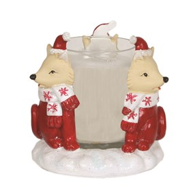 Fox Votive Holder