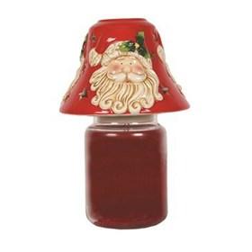 Santa Candle Jar Shade