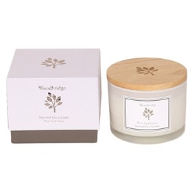 Black Fig & Cassis Large Soy Candle