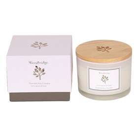 Lemon Grass & Sage Large Soy Candle