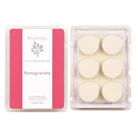 Pomegranate Soy Wax Melt Pack