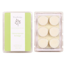 Lemon Grass & Sage Soy Wax Melt Pack