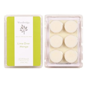 Lime Over Mango Soy Wax Melt Pack