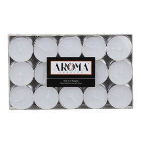 White Tealights - Pack of 15