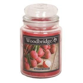 Oriental Lycheee Woodbridge Large Scented Candle Jar