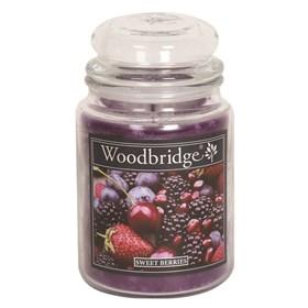 Sweet Berries Woodbridge Large Scented Candle Jar