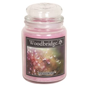 Morning Dew Woodbridge Large Scented Candle Jar