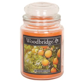 Orange Grove Woodbridge Large Scented Candle Jar