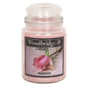 Love Always Woodbridge Large Scented Candle Jar