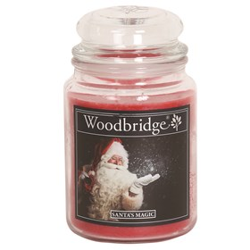 Santas Magic Woodbridge Large Scented Candle Jar