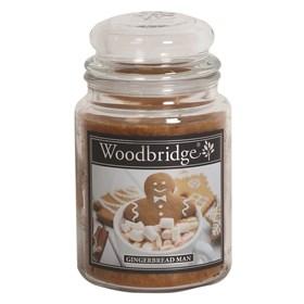 Gingerbread Man Woodbridge Large Scented Candle Jar